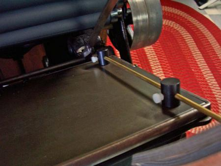 image: Using the platen gauge