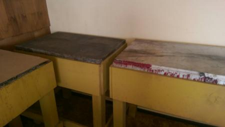image: showing 3 tables, one marble