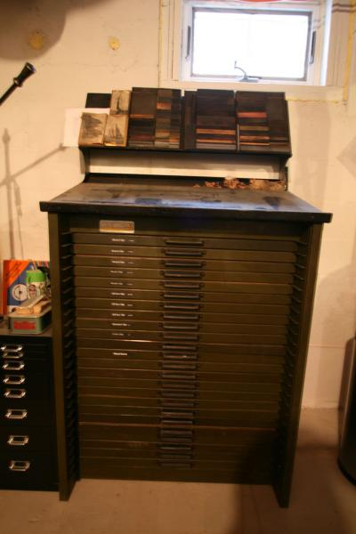 image: Hamilton 24 Case Type Cabinet with Upper Case Stand