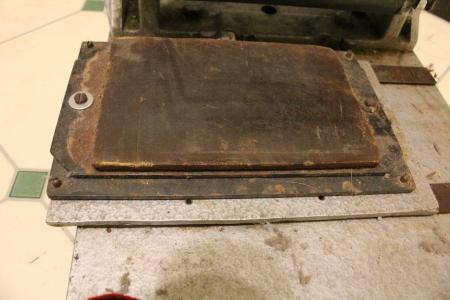 image: Offset Pad with deteriorated rubber