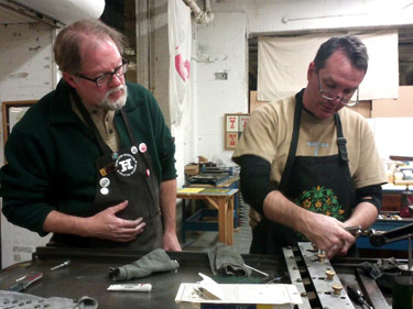 image: Vandercook Letterpress Workshop w/ Paul Moxon