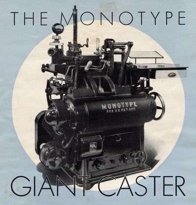 image: Lanston Monotype Giant Caster