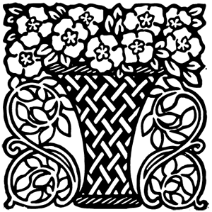 image: Flower basket