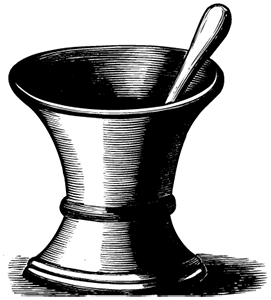 image: Pestle and mortar