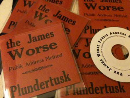 "image: 3"" CD - james worse"