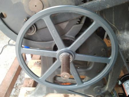 image: Drive shaft pulley 18.75""
